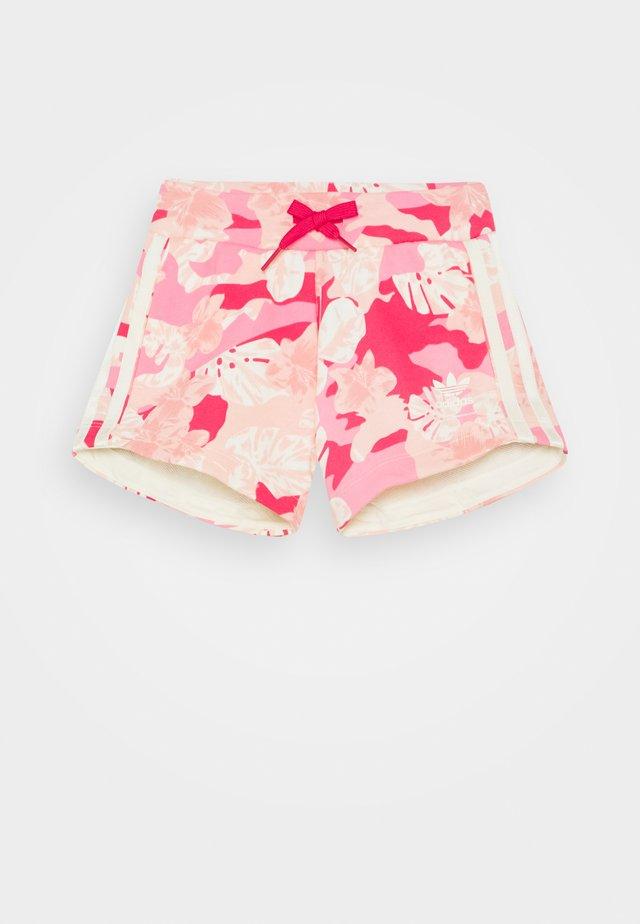 Pantaloni sportivi - pink/off white