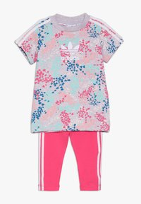 adidas Originals - TEE DRESS SET - Leggings - multi-coloured - 0