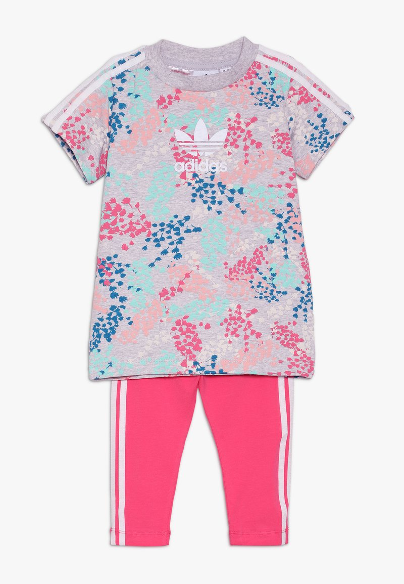 adidas Originals - TEE DRESS SET - Leggings - Trousers - multi-coloured