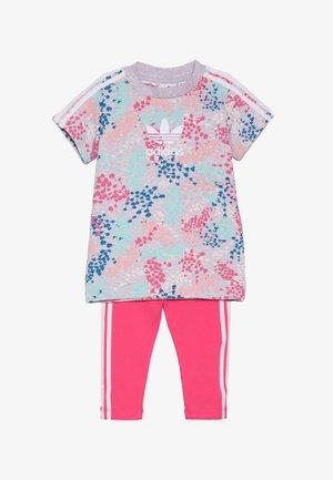 TEE DRESS SET - Leggings - multi-coloured