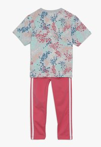 adidas Originals - TEE SET  - Leggings - multicolor/real pink - 1