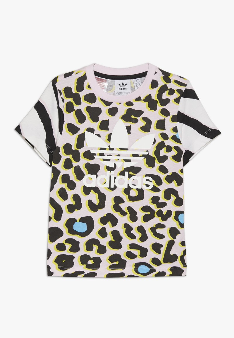adidas Originals - TEE - Camiseta estampada - multicolor/clear pink/black