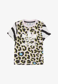 adidas Originals - TEE - Camiseta estampada - multicolor/clear pink/black - 2