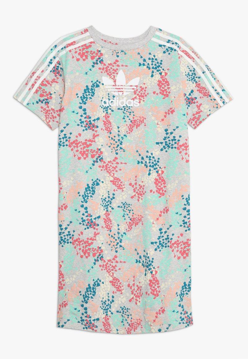 adidas Originals - TEE DRESS - Jerseyklänning - multicolor/white