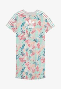 adidas Originals - TEE DRESS - Robe en jersey - multicolor/white - 2