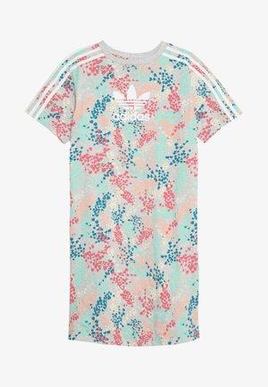 TEE DRESS - Žerzejové šaty - multicolor/white