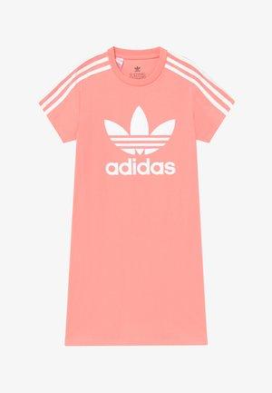 SKATER DRESS - Jerseyjurk - pink/white
