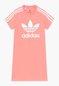 adidas Originals - SKATER DRESS - Jersey dress - pink/white - 0