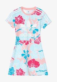 adidas Originals - DRESS - Robe en jersey - pink - 3