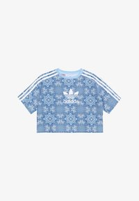 adidas Originals - STRIPES TEE - T-shirt print - multco/clesky/white - 2