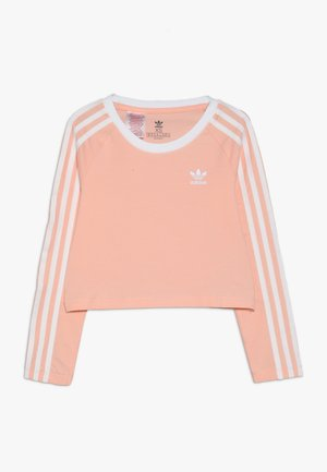3STRIPES - Long sleeved top - coral
