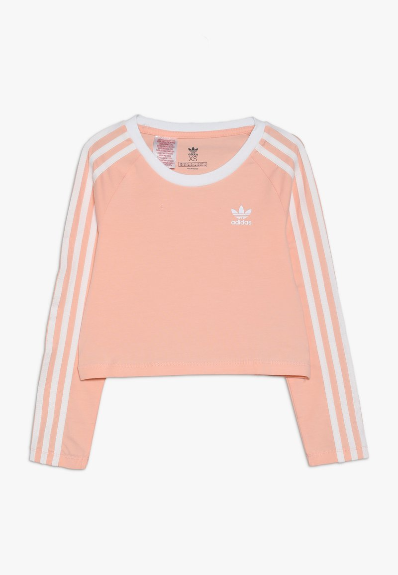 adidas Originals - 3STRIPES - Long sleeved top - coral