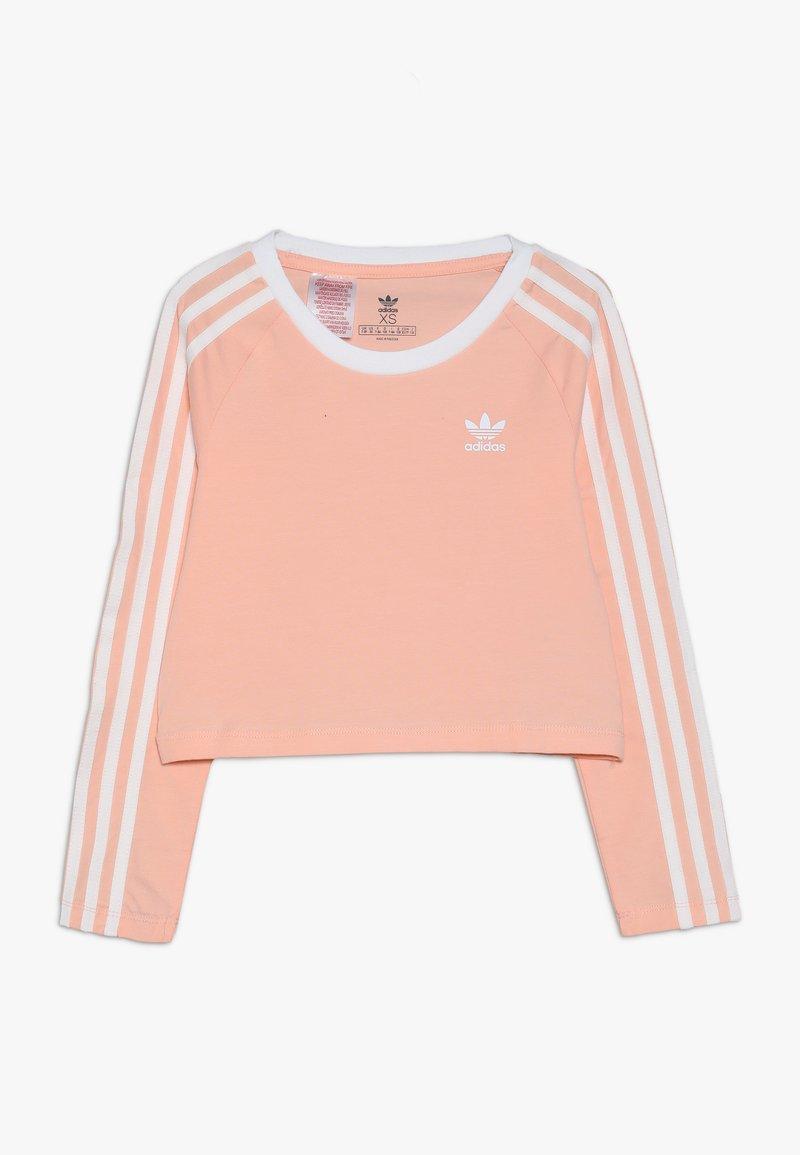 adidas Originals - 3STRIPES - Pitkähihainen paita - coral