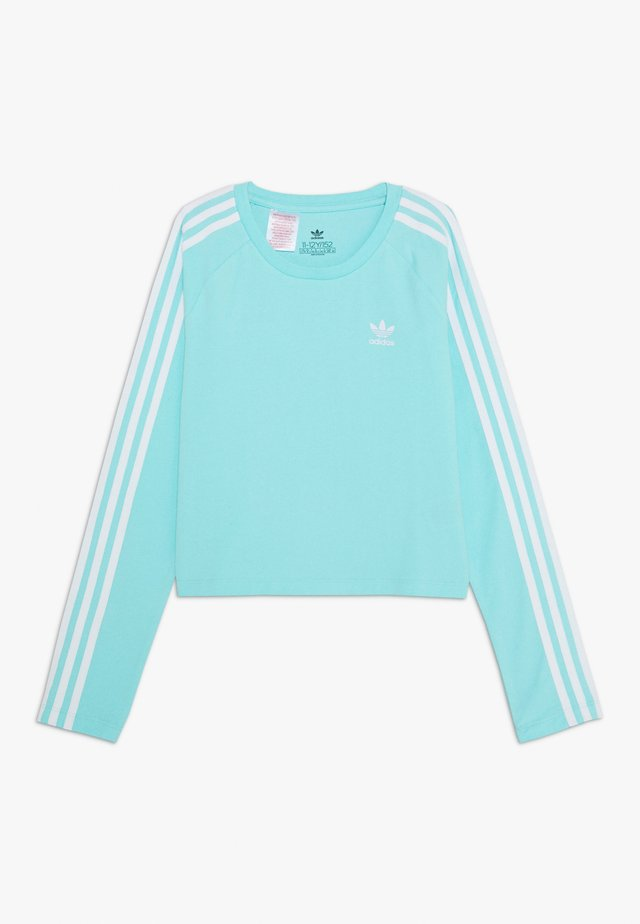 3 STRIPES - Long sleeved top - turquoise