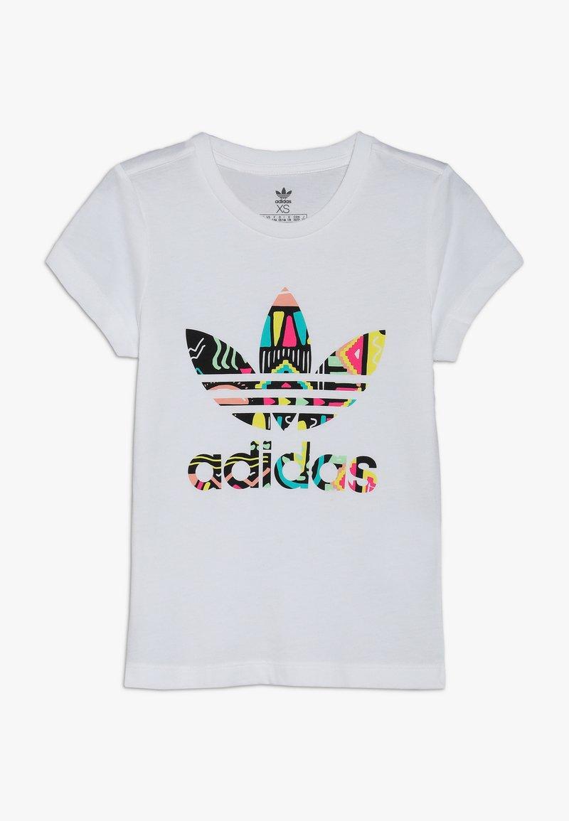 adidas Originals - TEE - Triko spotiskem - white