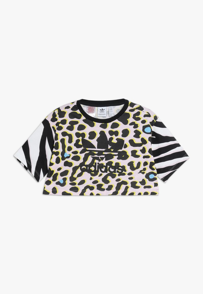 adidas Originals - TEE - T-shirt print - multicolor/black