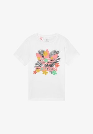 TEE - T-shirt imprimé - white/multi-coloured