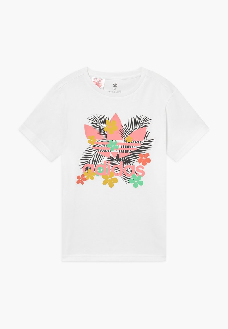adidas Originals - TEE - T-shirt imprimé - white/multi-coloured