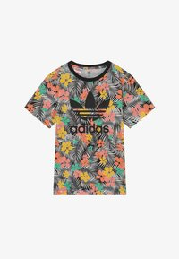 adidas Originals - TEE - T-shirt imprimé - black/multicolour - 2
