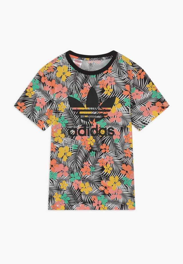 TEE - Print T-shirt - black/multicolour