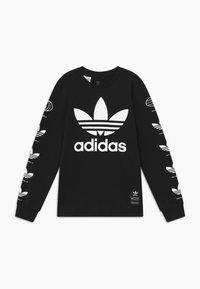 adidas Originals - HISTORY - Maglietta a manica lunga - black - 0