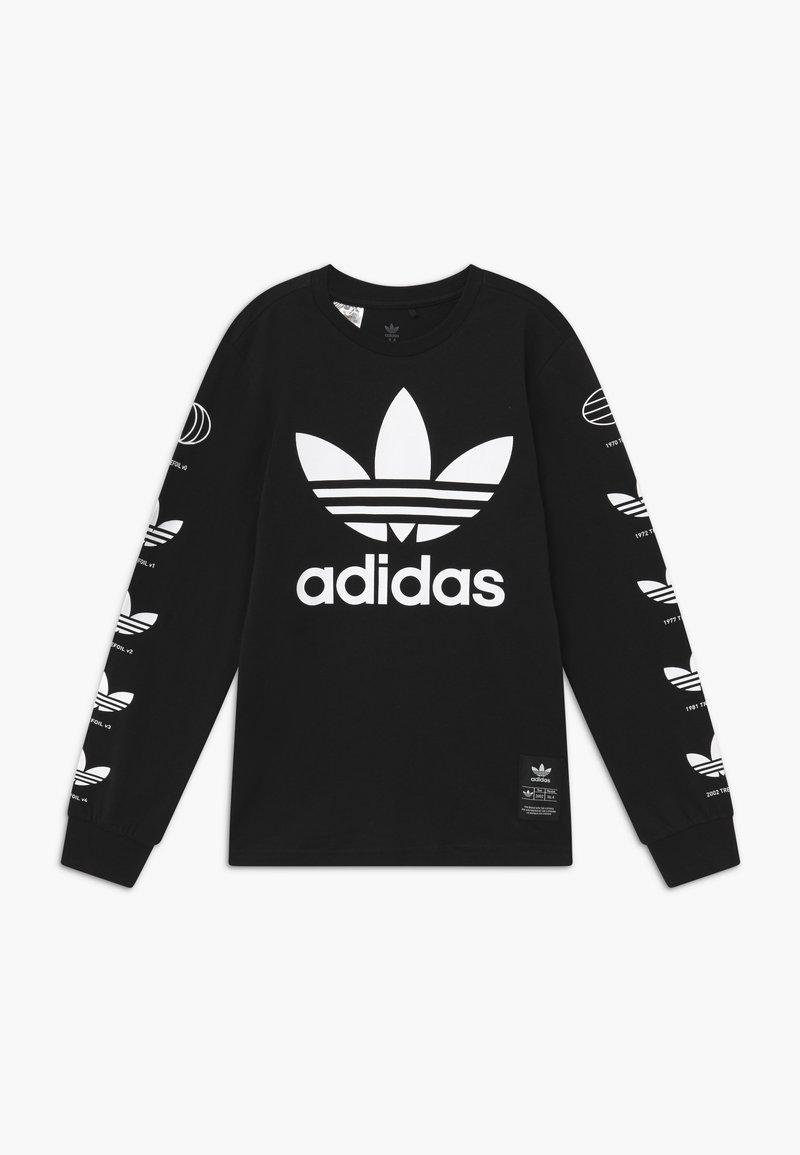 adidas Originals - HISTORY - Maglietta a manica lunga - black