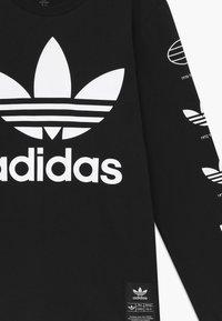 adidas Originals - HISTORY - Maglietta a manica lunga - black - 3
