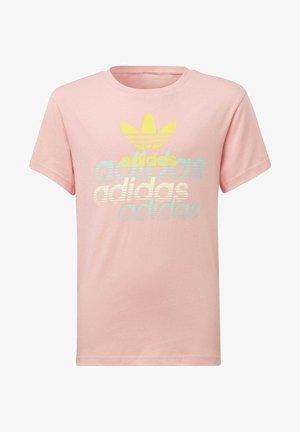 GRAPHIC T-SHIRT - Printtipaita - pink