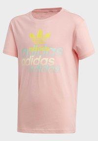 adidas Originals - GRAPHIC T-SHIRT - Printtipaita - pink - 1