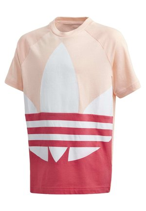 LARGE TREFOIL T-SHIRT - T-shirt con stampa - pink
