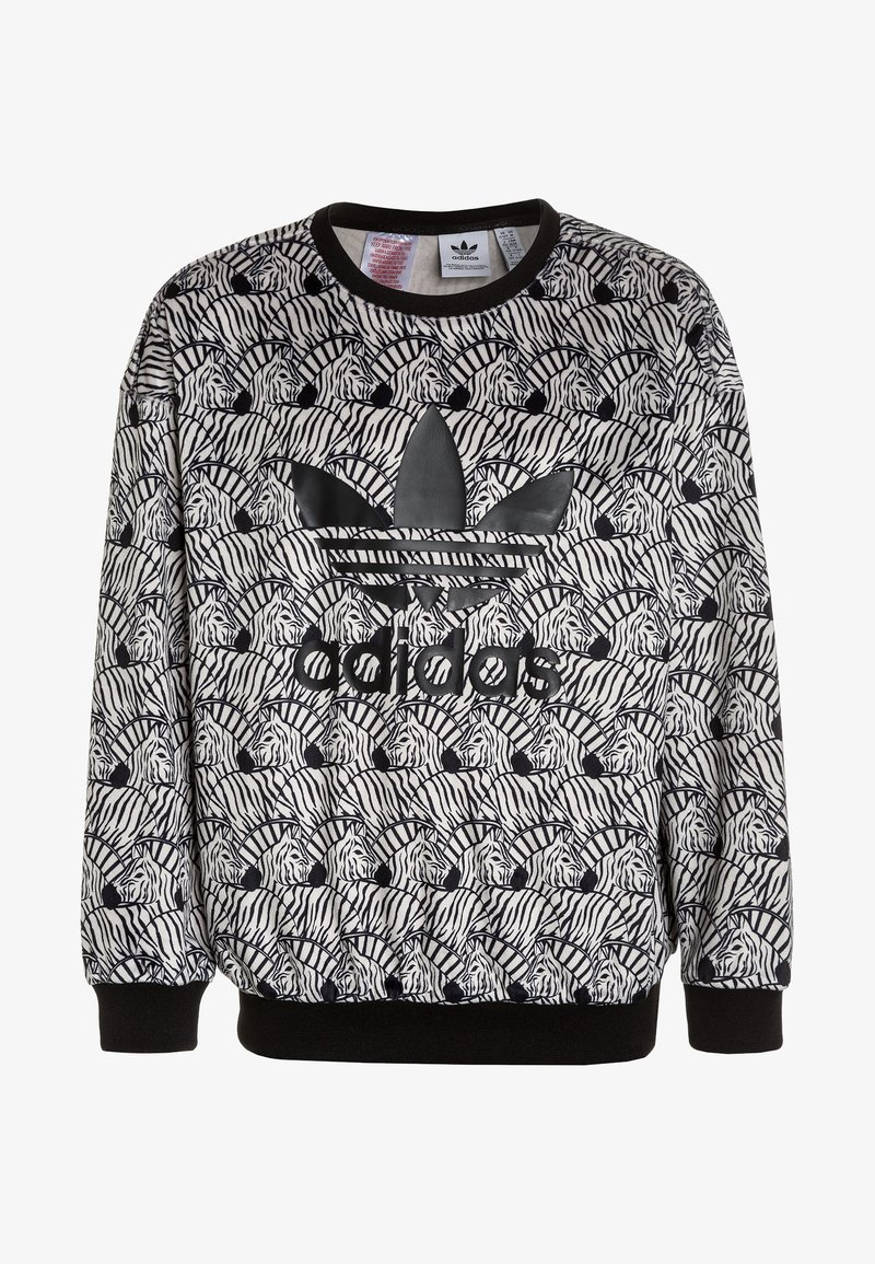 adidas Originals - CREW - Sweatshirt - clear brown/black