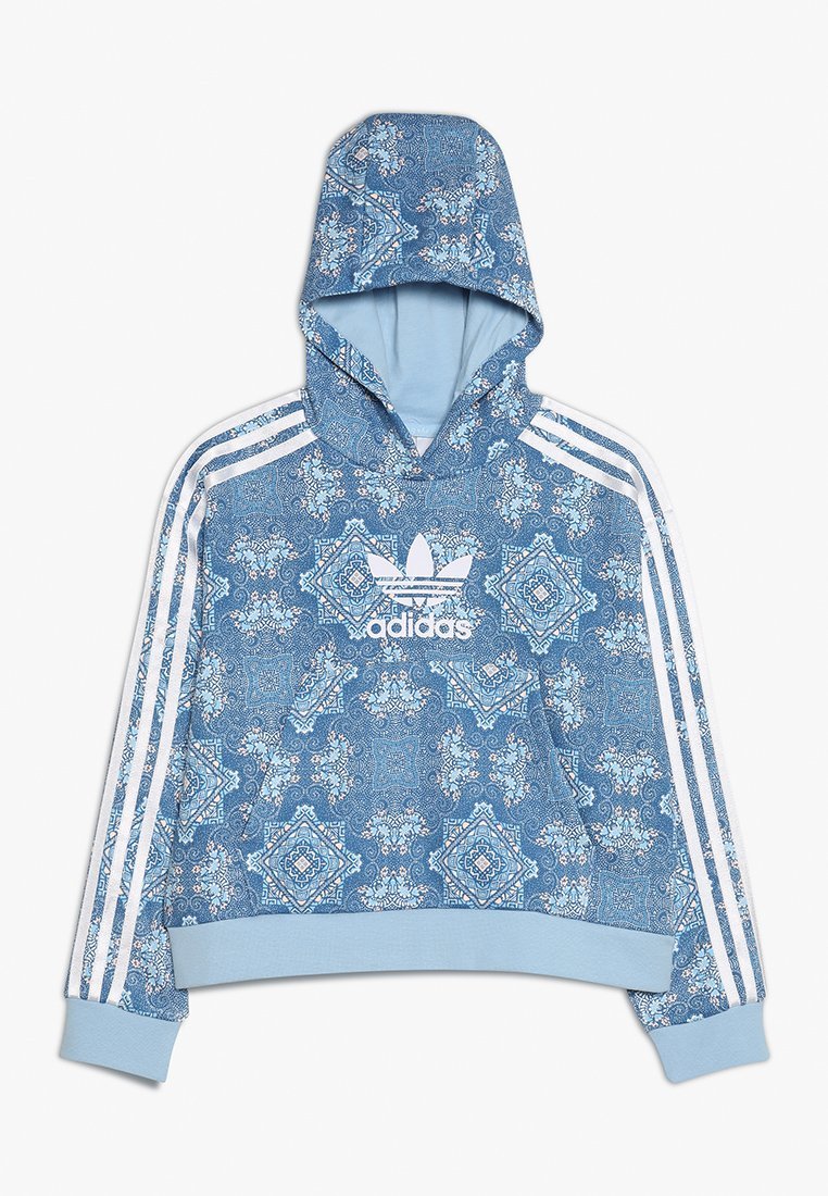 adidas Originals - HOODIE - Hoodie - multcolor/clear sky/white
