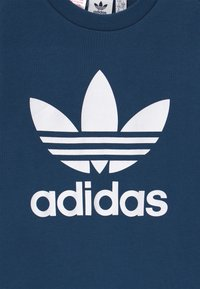 adidas Originals - TREFOIL CREW - Felpa - dark blue/white - 3