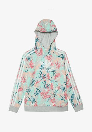HOODIE - Sweat à capuche - multicolor/white