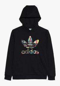 adidas Originals - HOODIE - Sweatshirt - black/multicolor - 0