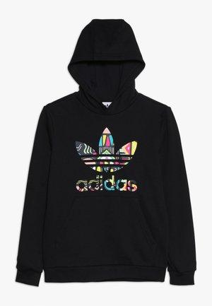 HOODIE - Sweater - black/multicolor