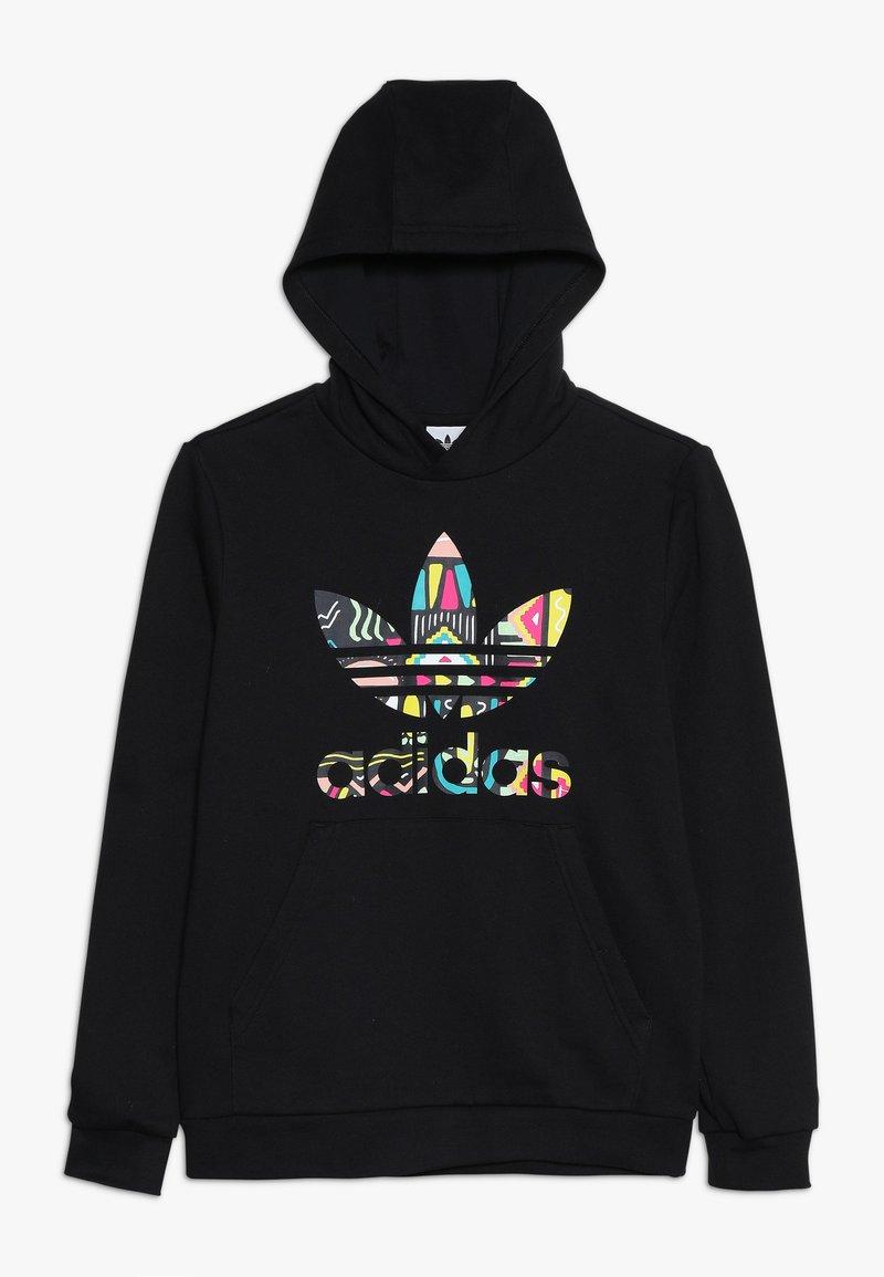 adidas Originals - HOODIE - Sweatshirt - black/multicolor
