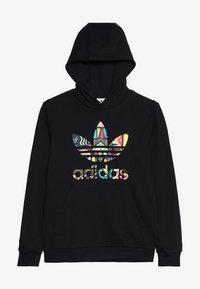 adidas Originals - HOODIE - Sweatshirt - black/multicolor - 3