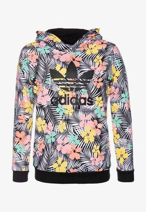 HOODIE - Hoodie - black/multicolor/glow pink