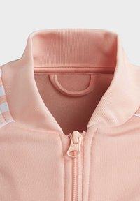 adidas Originals - SST TRACK TOP - Bomber Jacket - pink - 4
