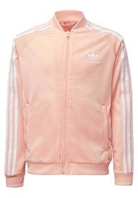 adidas Originals - SST TRACK TOP - Bomber Jacket - pink - 0