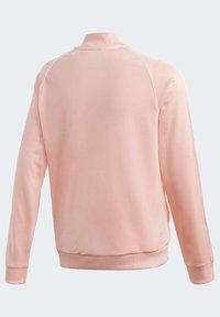 adidas Originals - SST TRACK TOP - Bomber Jacket - pink - 3