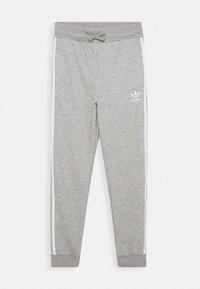 adidas Originals - TREFOIL PANTS - Verryttelyhousut - grey/white - 0