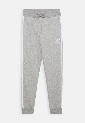 TREFOIL PANTS - Tracksuit bottoms - grey/white