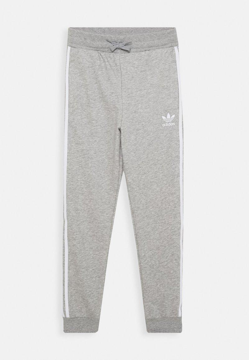 adidas Originals - TREFOIL PANTS - Verryttelyhousut - grey/white