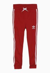 adidas Originals - TREFOIL PANTS - Verryttelyhousut - red - 0