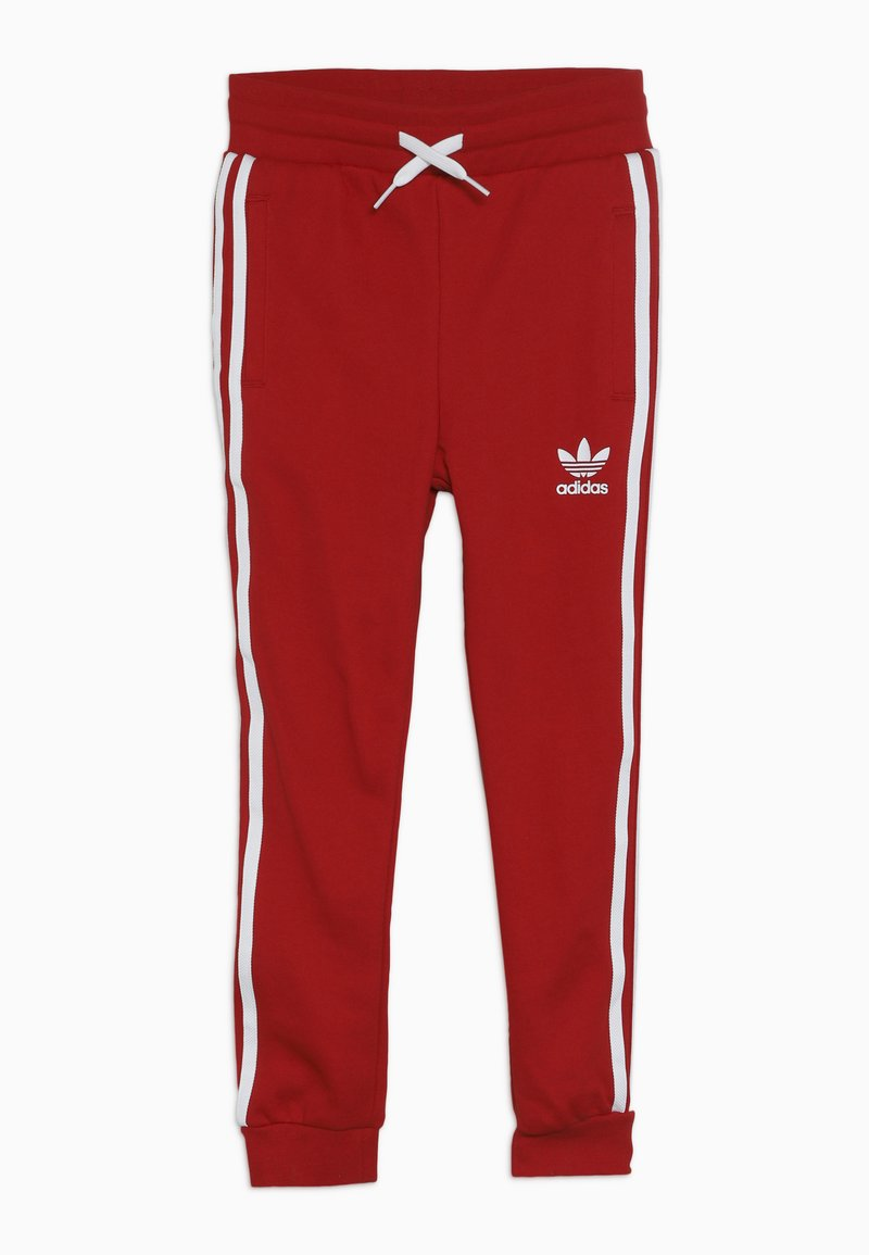 adidas Originals - TREFOIL PANTS - Spodnie treningowe - red