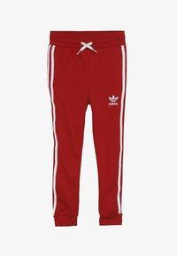 adidas Originals - TREFOIL PANTS - Verryttelyhousut - red - 3