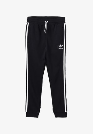 TREFOIL PANTS - Verryttelyhousut - black/white