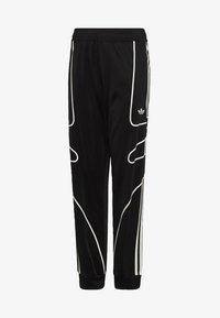 adidas Originals - FLAMESTRIKE TRACKSUIT BOTTOMS - Pantalon de survêtement - black - 0